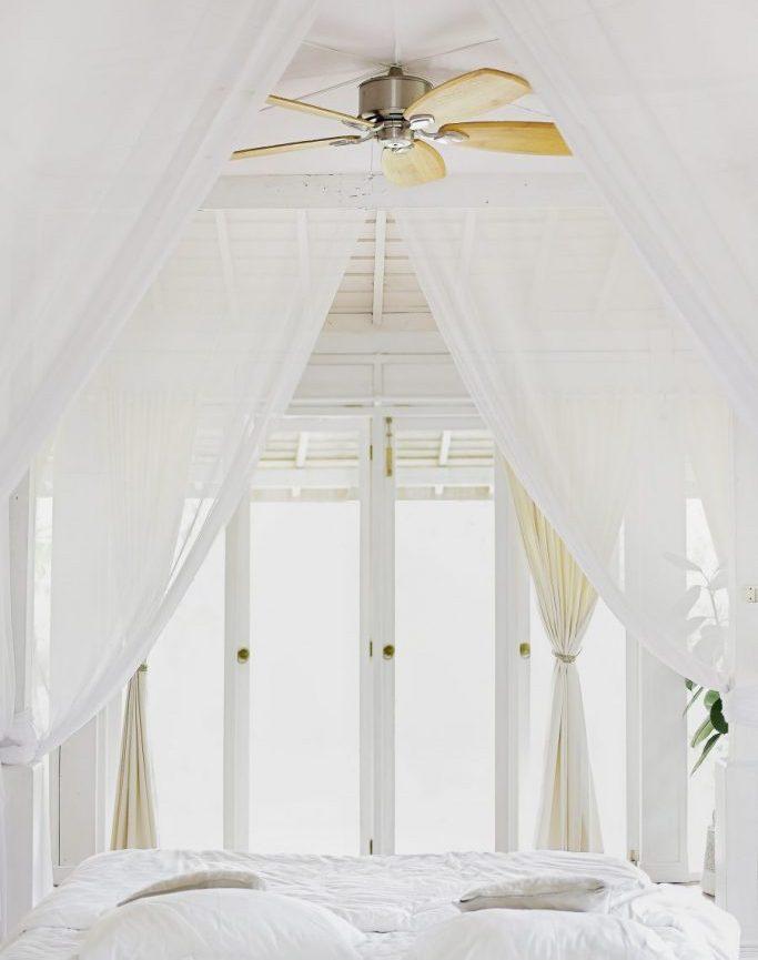 techo cama dormitorio feng shui