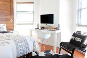 consejos feng shui dormitorio habitación- no escritorio
